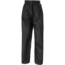 Kleidung Kinder Jogginghosen Result R226J Schwarz
