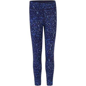 Kleidung Mädchen Leggings Skinni Fit SM424 Marineblau/Bubbles