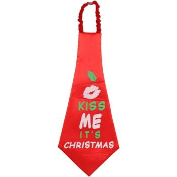 Kleidung Krawatte und Accessoires Christmas Shop CS252 Rot