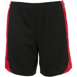 Kleidung Kinder Shorts / Bermudas Sols 01720 Schwarz/Rot