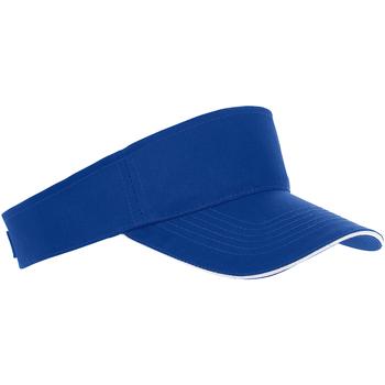 Accessoires Schirmmütze Sols 01196 Royal Blau/Weiß
