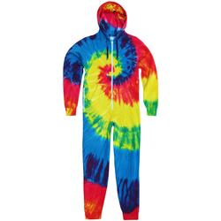 Kleidung Herren Overalls / Latzhosen Colortone TD36M Regenbogen