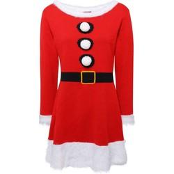 Kleidung Damen Kurze Kleider Christmas Shop CS039 Rot