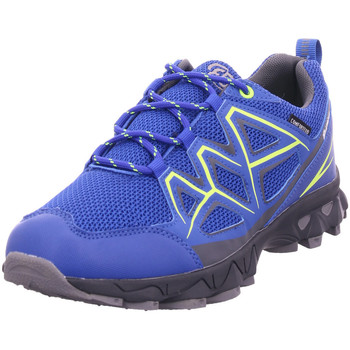 Schuhe Wanderschuhe Bruetting Power blau/lemon