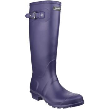 Schuhe Gummistiefel Cotswold  Violett