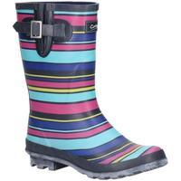 Schuhe Damen Gummistiefel Cotswold  Bunt/Streifen