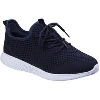 Schuhe Damen Sneaker Low Divaz  Marineblau
