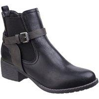 Schuhe Damen Boots Divaz  Schwarz