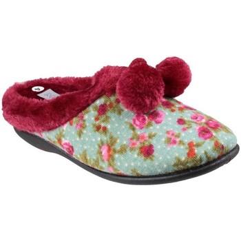 Schuhe Damen Hausschuhe Mirak  Floral