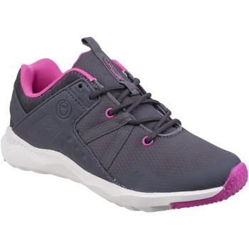 Schuhe Damen Sneaker Low Cotswold  Grau/Fuchsia/Weiß
