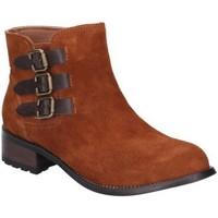 Schuhe Damen Boots Divaz  Tan