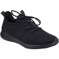 Schuhe Damen Sneaker Low Divaz  Schwarz