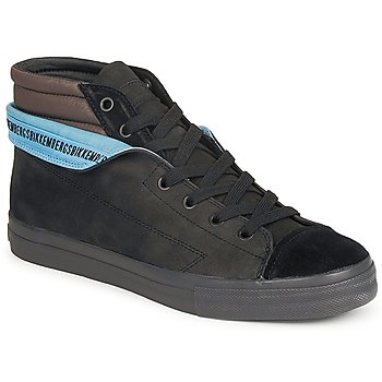Schuhe Herren Sneaker High Bikkembergs PLUS MID SUEDE Schwarz
