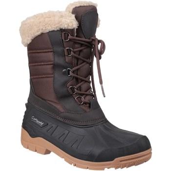 Schuhe Damen Schneestiefel Cotswold  Braun