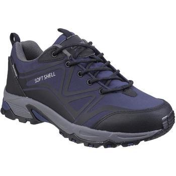 Schuhe Herren Wanderschuhe Cotswold  Blau/Schwarz/Grau