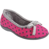 Schuhe Damen Hausschuhe Sleepers Polka Pink
