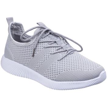 Schuhe Damen Sneaker Low Divaz  Grau
