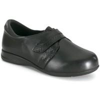 Schuhe Damen Slipper Calzamedi WEICHE HAUT BLACK