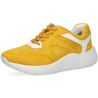 Schuhe Damen Sneaker Low Caprice Woms Lace-up 9-9-23501-24-616 gelb