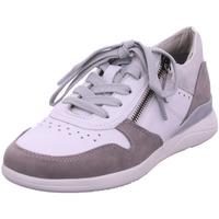 Schuhe Damen Sneaker Low Jana Da.-Schnürer TAUPE