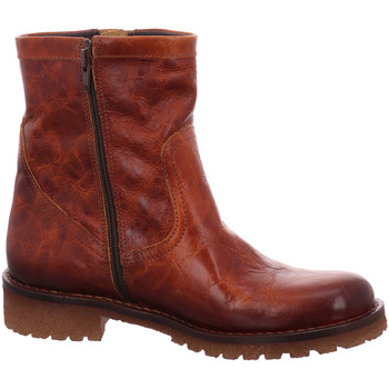 Schuhe Damen Low Boots Lazamani Stiefeletten 1346 74.441 cognac 122 braun