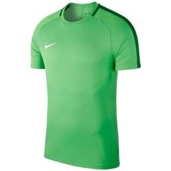 Kleidung Herren T-Shirts Nike Dry Academy 18 Grün
