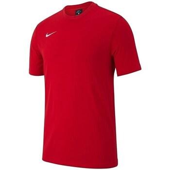 Kleidung Jungen T-Shirts Nike JR Team Club 19 Rot