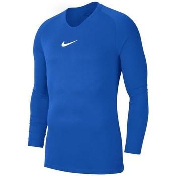 Kleidung Jungen Langarmshirts Nike JR Dry Park First Layer Blau