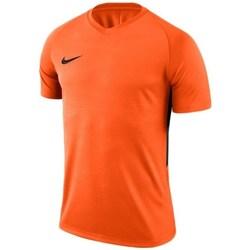 Kleidung Herren T-Shirts Nike Dry Tiempo Prem Jersey Orange