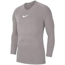 Kleidung Herren Langarmshirts Nike Dry Park First Layer Grau