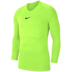 Kleidung Herren Langarmshirts Nike Dry Park First Layer Seladongrün