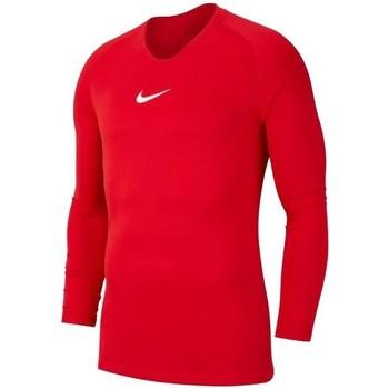 Kleidung Herren Langarmshirts Nike Dry Park First Layer Rot