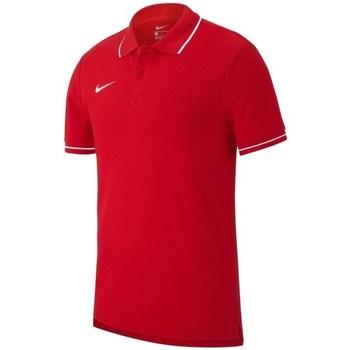 Kleidung Herren Polohemden Nike Team Club 19 Rot