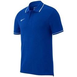 Kleidung Herren Polohemden Nike Team Club 19 Polo Blau