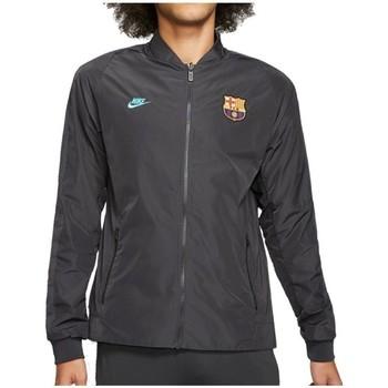 Kleidung Herren Trainingsjacken Nike FC Barcelona Nsw Graphit