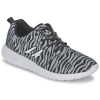 Schuhe Damen Sneaker Low L.A. Gear SUNRISE Grau / Schwarz