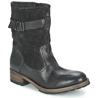 Schuhe Damen Boots Pataugas DECK Schwarz