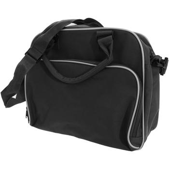 Taschen Kinder Schultasche Bagbase BG145 Schwarz/Weiß