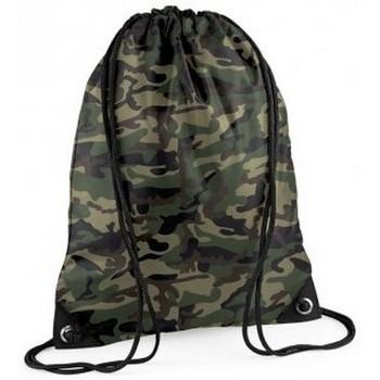 Taschen Kinder Sporttaschen Bagbase BG10 Jungel Camouflage