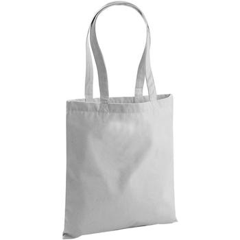 Taschen Shopper / Einkaufstasche Westford Mill W801 Hellgrau