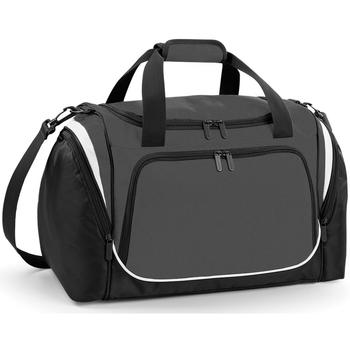 Taschen Sporttaschen Quadra QS277 Anthrazit/Schwarz/Weiß
