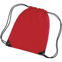 Taschen Kinder Sporttaschen Bagbase BG10 Dunkles Rot