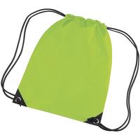 Taschen Kinder Sporttaschen Bagbase BG10 Limetten Grün