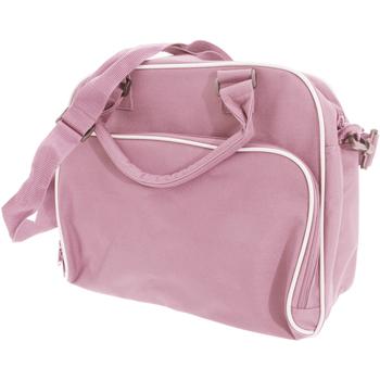 Taschen Kinder Schultasche Bagbase BG145 Pink/Hellgrau