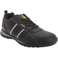 Schuhe Herren Sneaker Low Grafters  Schwarz/Grau Action