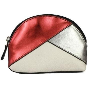 Taschen Damen Geldbeutel Eastern Counties Leather  Metallicrot/Zinn/Weiß