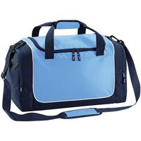 Taschen Sporttaschen Quadra QS77 Himmelblau/Marineblau/Weiß