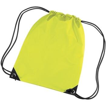 Taschen Kinder Sporttaschen Bagbase BG10 Neon Gelb