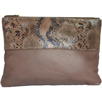 Taschen Damen Geldtasche / Handtasche Eastern Counties Leather  Taupe/Beigebedruckt
