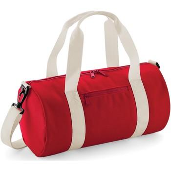 Taschen Sporttaschen Bagbase  Rot/Off Weiß